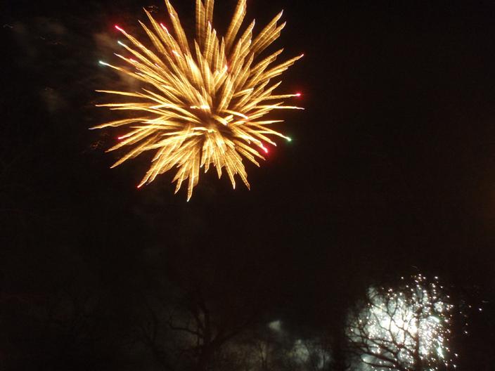 feux d'artifice, Noel, Montréal, 2013, Noel 2013, Noel dans le parc