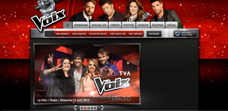 La Voix TVA 2014