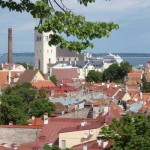 Vieille ville de Tallinn, vue de Toompea   © Julie Marcil