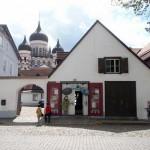Vieille ville de Tallinn. Derrière, cathédrale Alexandre Nevski construite par les Russes en 1900. © Julie Marcil